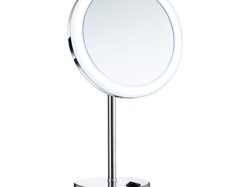 kosmetikspiegel rund mit beleuchtung teuscher glasduschen. Black Bedroom Furniture Sets. Home Design Ideas