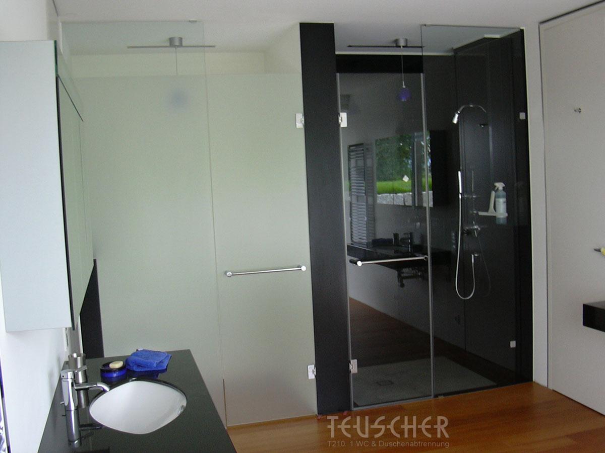 T210 – 1 WC & Duschenabtrennung