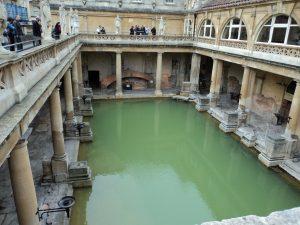 Ruinen eines römischen Bades