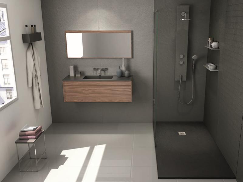 Eine hochwertige neue Dusche kann ein Badezimmer aufwerten.