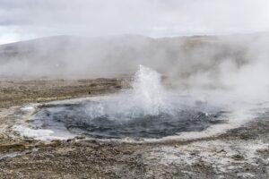 Ein heisser naturpool in Island: Hveravellir.