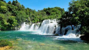 Die schönsten Wasserfälle der Welt: der Skradinski Buk im Krka Nationalpark, Kroatien